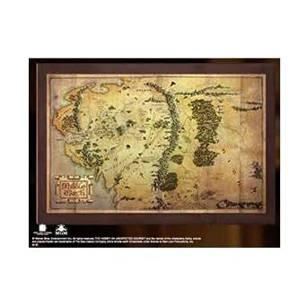 ホビット 思いがけない冒険 プロップレプリカ 中つ国 地図