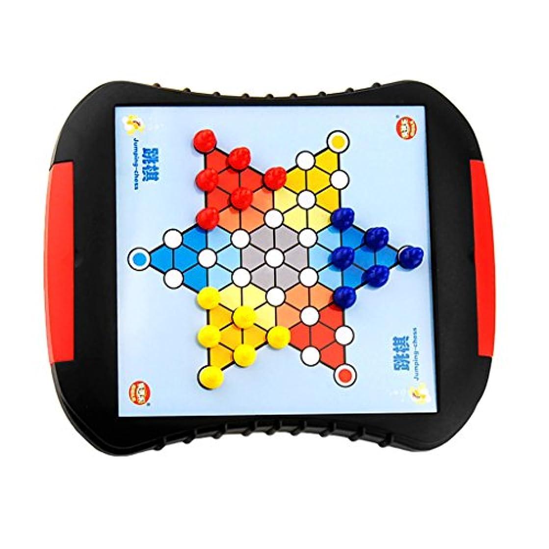 輝度ウイルス不可能なKesoto 磁気 チェスボード おもちゃ 脳力開発  贈り物 引き出し付き プラスチック製