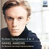 Brahms: Symphonies Nos.3 & 4 画像