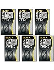 ブラック エピックスリム ゼロ ブラック 6個セット!  Epic Slim ZERO BLACK ×6個