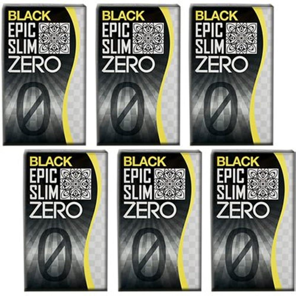 前部拡声器福祉ブラック エピックスリム ゼロ ブラック 6個セット!  Epic Slim ZERO BLACK ×6個