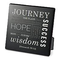 灯台Christian製品Journeyメタル&木製Plaque