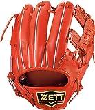 ZETT(ゼット) 硬式野球 プロステイタス グラブ (グローブ) セカンド・ショート用 ディープオレンジ(5800) 右投げ用 BPROG660