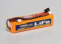 HobbyKing 1500mAH LiFe(リフェ) 3S(3セル) 9.9v Transmitter(送信機用) リフェ バッテリー
