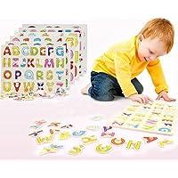 木製 型はめパズル アルファベットと数字のセット 知育に最適!はじめてのあそび道具