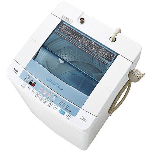 アクア 7.0kg 全自動洗濯機 ホワイトAQUA AQW-V700E-W
