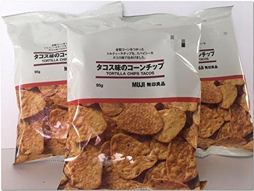 【無印良品】タコス味のコーンチップ 95g × 3袋