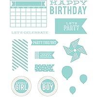 Lifestyle Letterpress Plates-Party (並行輸入品)