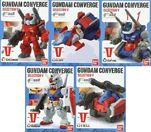 FW GUNDAM CONVERGE SELECTION V 全5種セット(フルコンプ) セブンイレブン限定