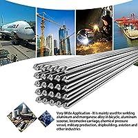 AiCheaX A102 E308シリーズチタンカルシウムタイプCr19Ni10ステンレス鋼溶接棒キット0 04kg 60 210A 350 400mmシルバー-(直径:その他、材質:ステンレス鋼)