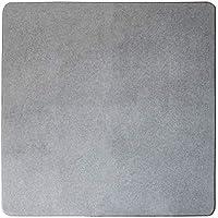 アイリスプラザ ラグパット クッション性 M グレー RGPD-M 幅約175×奥行約175×高さ約0.9㎝ 2)正方形M(185×185cm)