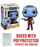 Guardians of the Galaxy Vol。2 Nebula Pop 。Vinyl Figure with Free Popプロテクター。