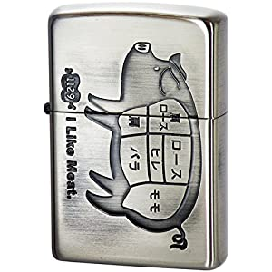 Zippo 灰皿・喫煙具 シルバー 高さ5.2×幅3.8×奥行き1.3cm