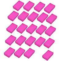 FITYLE 24pcs Earring Pendant Necklace Jewelry Gift Retail Boxes Bulk Sale 5x8x2.5cm - Rose Red