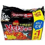 激辛 ブルダック炒め麺 140g×6袋入り [並行輸入品]