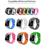 i watchz iPod nano 第6世代 腕時計 タイプ / ケース nano 6(イエロー)