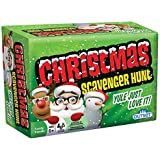 Christmas Scavenger Hunt Game - Includes 220 Cards with Holiday Themed Objects Found both Inside and Outside the Home (Ages 6+) [並行輸入品]