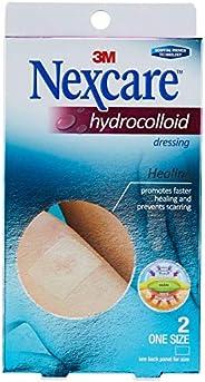 Nexcare Hydrocolloid Dressings, 6X10cm, 2ct
