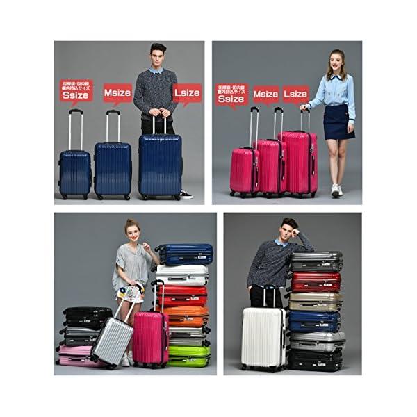 ラッキーパンダ スーツケース TY001 TS...の紹介画像8
