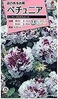 【種子】ペチュニア F1パープルピルエット 約50粒