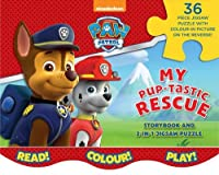 Nickelodeon PAW Patrol My Pup-tastic Rescue: Storybook and 2-in-1 Jigsaw Puzzle
