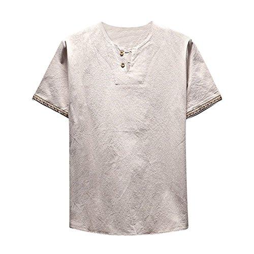 男性Tシャツ BOBOGOJP メンズ カッコいい 上着 半...