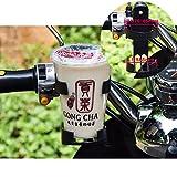 CASSIE ペットボトル ドリンク ホルダー バイク 自転車 ベビーカー 用 サイクリング時の水分補給 取付け簡単