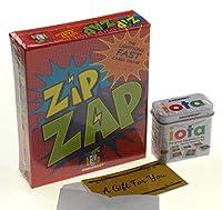 Iota & Zip Zap カードゲームバンドル ギフトカード付き