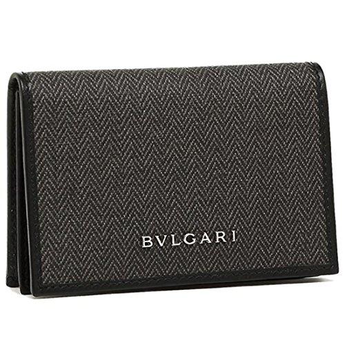 78c453f69ba4 [ブルガリ] カードケース BVLGARI 32588 WEEKEND ブラック 黒 [並行輸入品]