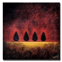 Nicole DietzによるTrademark Art On Fire キャンバスアート 24 by 24-Inch ND004-C2424GG