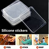 10Pcs Transparent Silicone Gel Pad Anti Slip Multifunction Non-Slip Wall Sticker Free Adhesive by ShopIdea