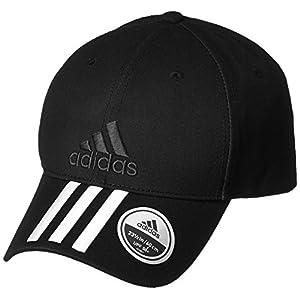 [Adidas] カジュアル 帽子・キャップ バイザー BXA90 ブラック/ホワイト/ブラック 日本 OSFX-(Free サイズ)