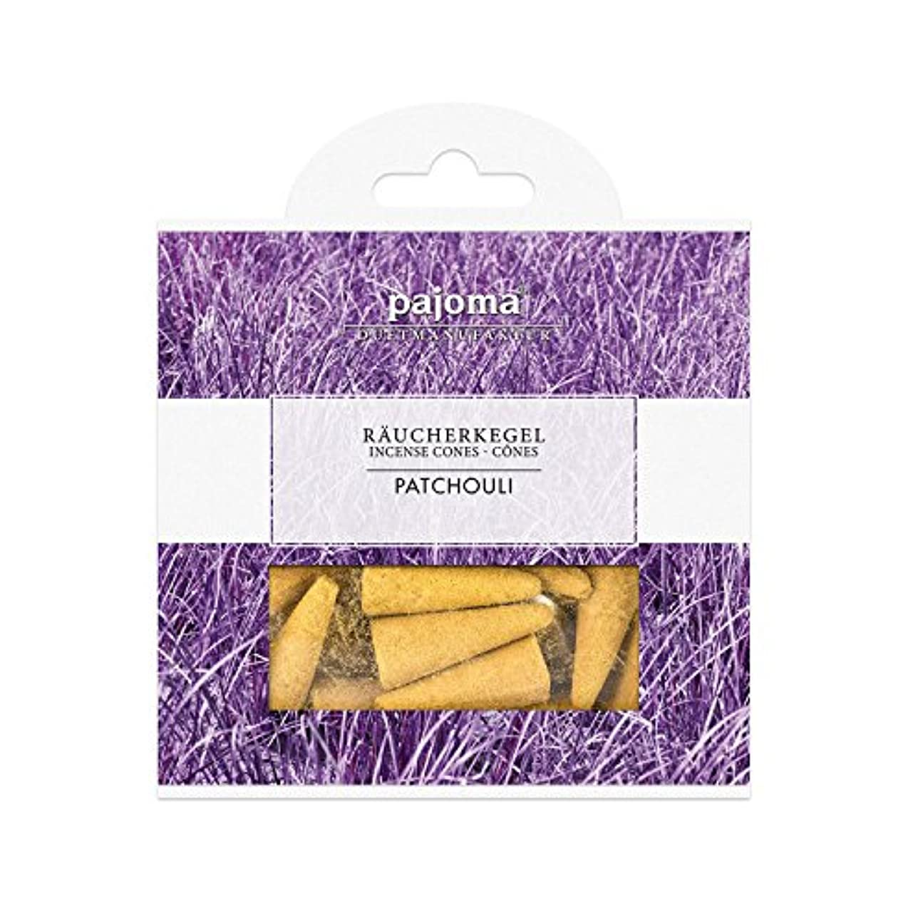 エスカレーター幽霊拒否Pajoma IncludesメタルホルダーIndian Sandalwood Incense Cones、20のパック、10 x 10 cm
