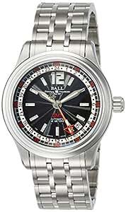 [ボールウォッチ]BALLWATCH 腕時計 トレインマスター GMT ステンレススチール 自動巻き ブラック文字盤 50m防水 GM1038C-SJ-BK メンズ 【並行輸入品】