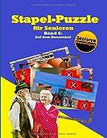 Stapel-Puzzle fuer Senioren: Thema: Auf dem Bauernhof (Stapelspiel – Seniorenarbeit)