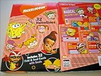 NICKELODEON 32 VALENTINES (Orange) by Nickelodeon