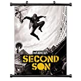 Infamous: Second Son Game Fabric Wall Scroll Poster (32x45) Inches by Anime Wall Scrolls [並行輸入品]