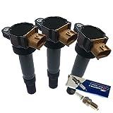 イグニッションコイル 3本+スパークプラグ 3本 アルト HA24S HA24V スズキ IC2P