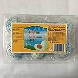 鹹鴨蛋【3点セット】(ゆで塩卵・塩蛋・鹹蛋・味付け卵) アヒルの卵 中国名産 360g(6個入)×3