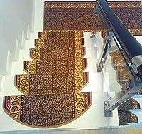 KuangfuMall 階段用パッド/接着剤不要の粘着性滑り止めスキッドパッド (Color : 2*(single), サイズ : 75*24*3cm)
