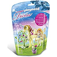Playmobil 5442 Flower Fairy with Unicorn Sun Beam