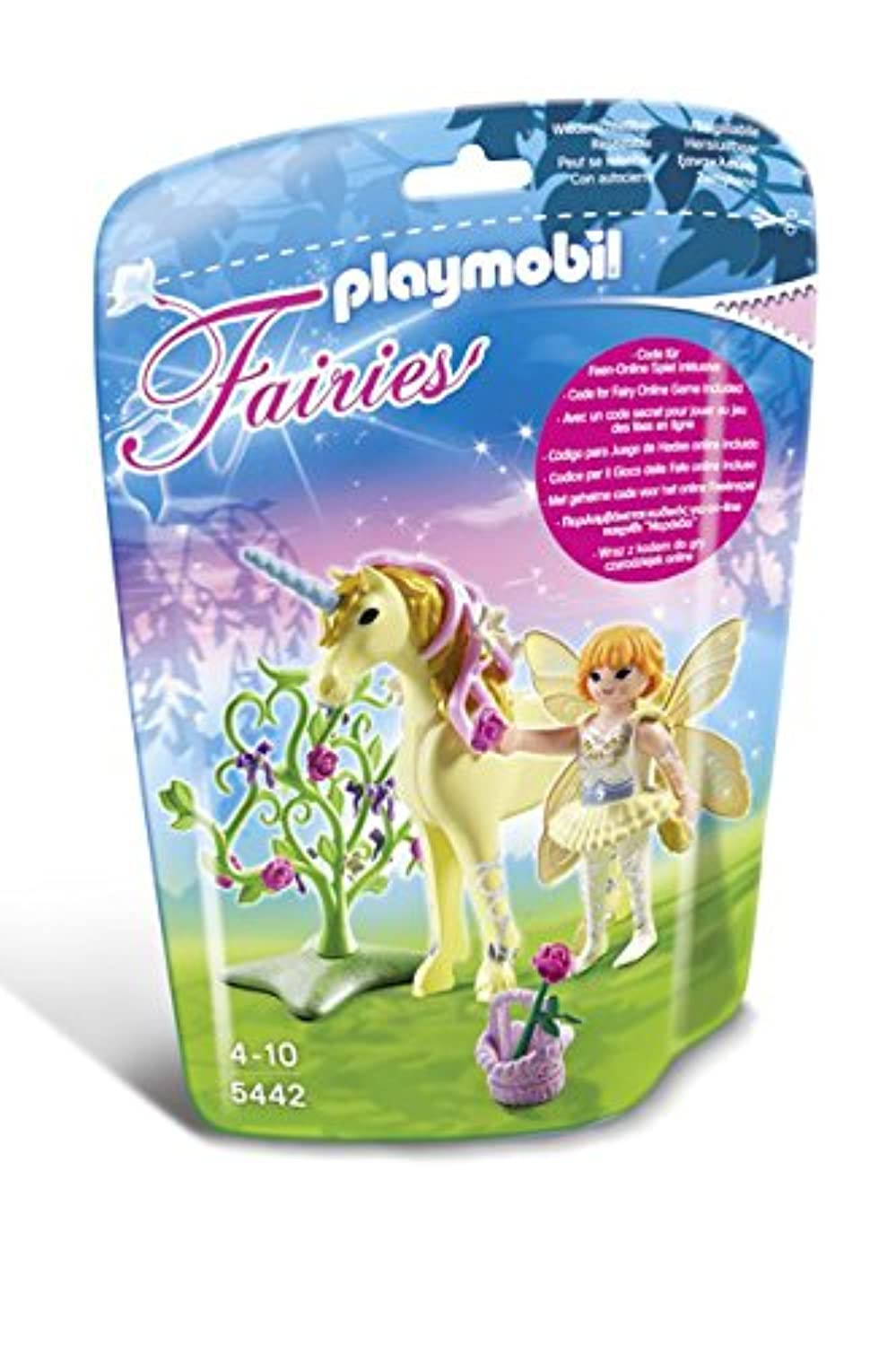 Playmobil 5442 Flower Fairy with Unicorn Sun Beam