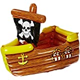 Beistle 50989 Inflatable Pirate Ship Cooler、3-feet 3インチ幅by 83.82センチ高さ