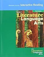 Literature and Language Arts, Grade 7 Universal Access Interactive Reader: Holt Literature and Language Arts California