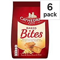 [Cathedral City] 大聖堂の街焼き刺さ22Gと×6パック - Cathedral City Baked Bites 22G X 6 Pack [並行輸入品]