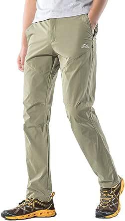 (スポする)Runwho アウトドア ゴルフ登山パンツ 春夏秋用 ズボン 薄手 吸汗速乾 ウェアトレッキング ロングパンツM~XXXL
