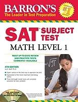 Barron's SAT Subject Test Math Level 1 with CD-ROM