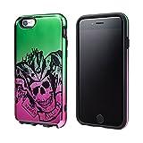 GRAMAS COLORS Hybrid Case for iPhone 6s Joker / Harley Quinn (Joker (Green/Pink) スーサイドスクワッド×GRAMAS COLORS iPhone6sケース ジョーカー/ハーレイクイン