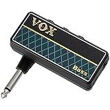VOX ヘッドフォン ベースアンプ amPlug2 Bass ケーブル不要 ベースに直接プラグ・イン 自宅練習に最適 電池駆動 リズムパターン内蔵