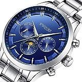 Best セイコー自動腕時計 - GuTe出品 腕時計 メンズ 自動巻き 日付 曜日 24時間 シンプル Review